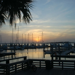 Sunset at Fernindina Marina